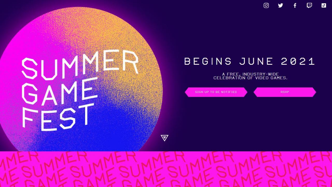 Trailer da Summer Game Fest 2021 é revelado - O Megascópio